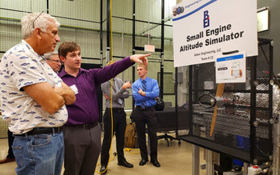 Baker Engineering Sponsors GVSU School of Engineering Senior Capstone Program Award Winning Team