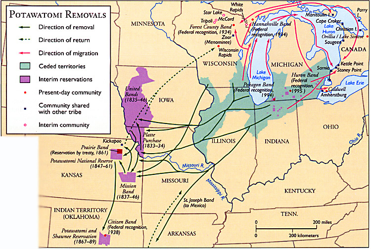 1840 – Forced Relocation