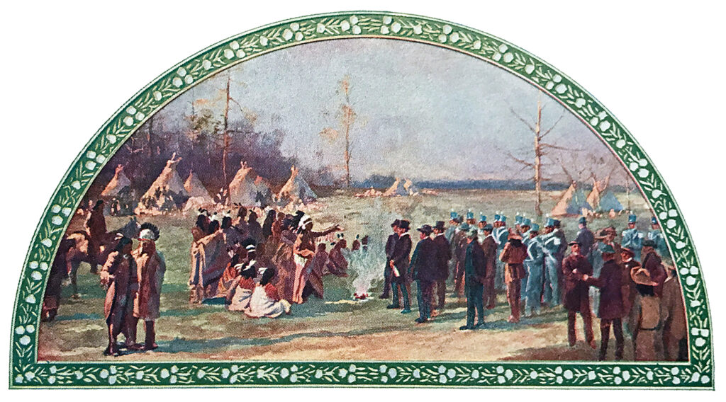 1833 – Treaty of Chicago   1838 – Trail of Death